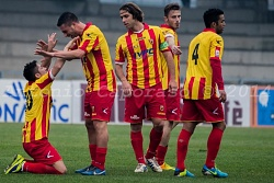 PARTITA BN-GROSSETO 3-2 STADIO VIGORITO BENEVENTO 12 / 01 / 2014